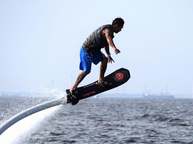 ホバーボート スケートボード/10分